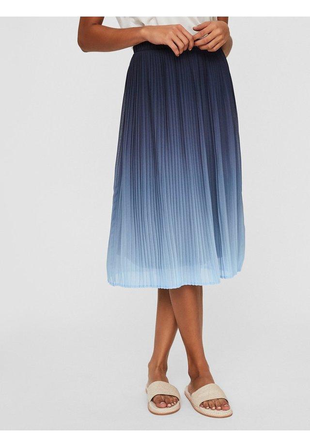 ROCK HOCHTAILLIERTER - A-line skirt - placid blue