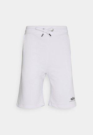 BASIC SMALL LOGO - Shortsit - white