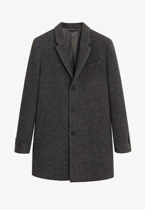 Krótki płaszcz - donkergrijs
