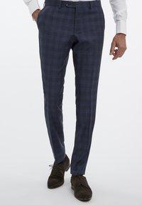 Van Gils - Suit trousers - blue - 0
