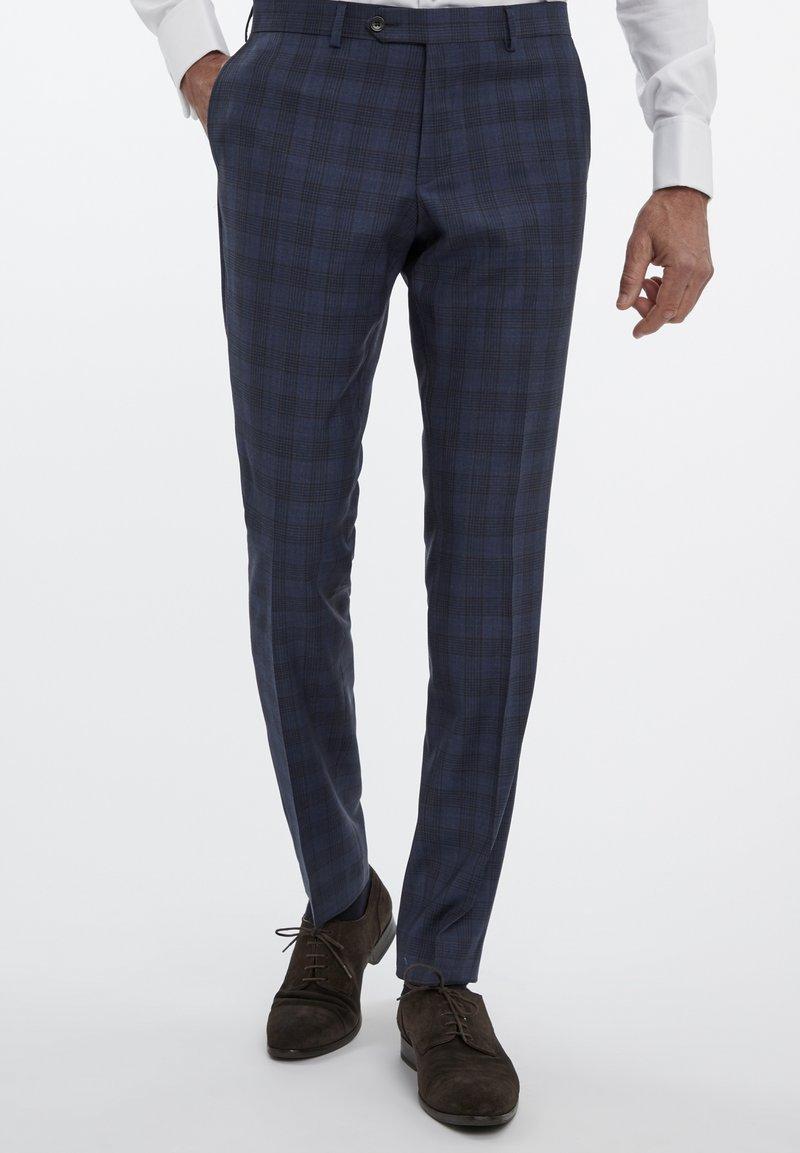 Van Gils - Suit trousers - blue