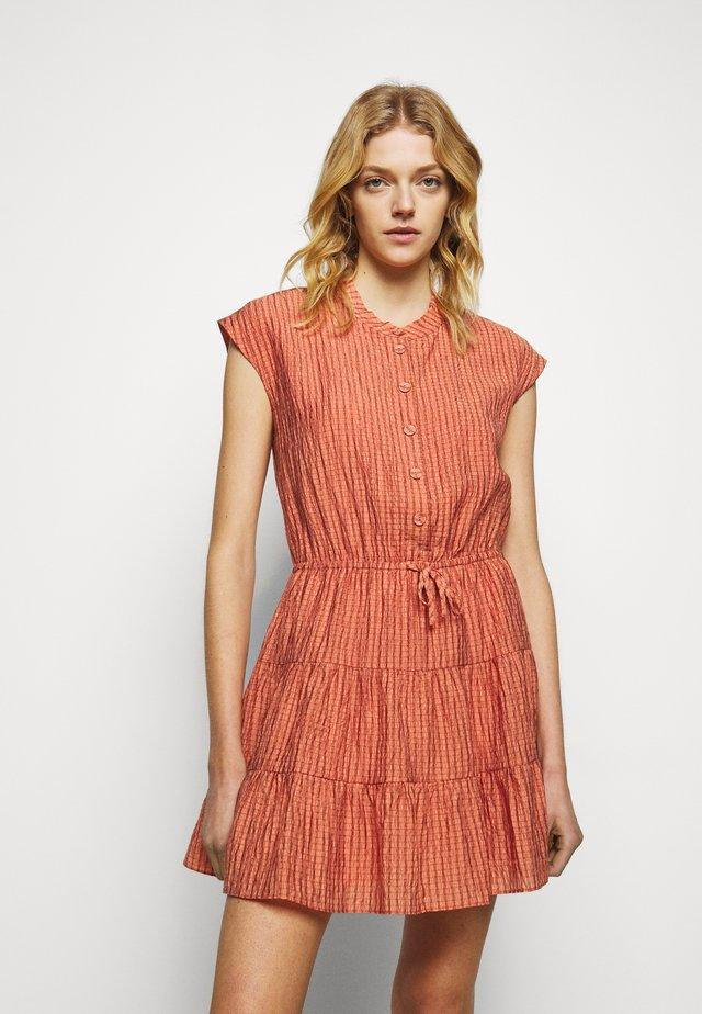 OLLIE DRESS - Shirt dress - peach