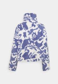 Monki - AMALIA - Fleece jumper - blue liquid fluff - 6