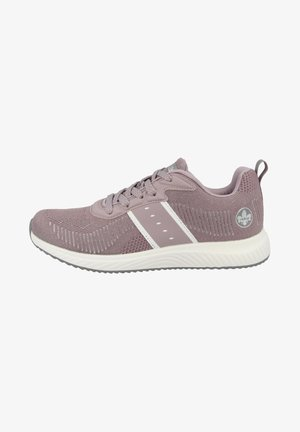 Sneakers laag - lilac silver