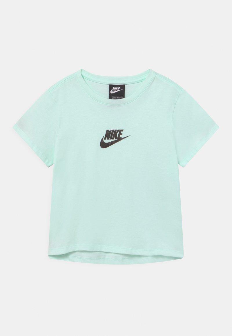 Nike Sportswear - CROP - Print T-shirt - barely green