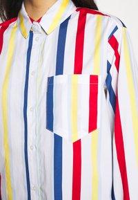 Esprit - PRINTED POPLIN - Skjorte - white - 5
