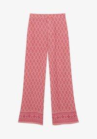 PULL&BEAR - Trousers - mottled light pink - 4