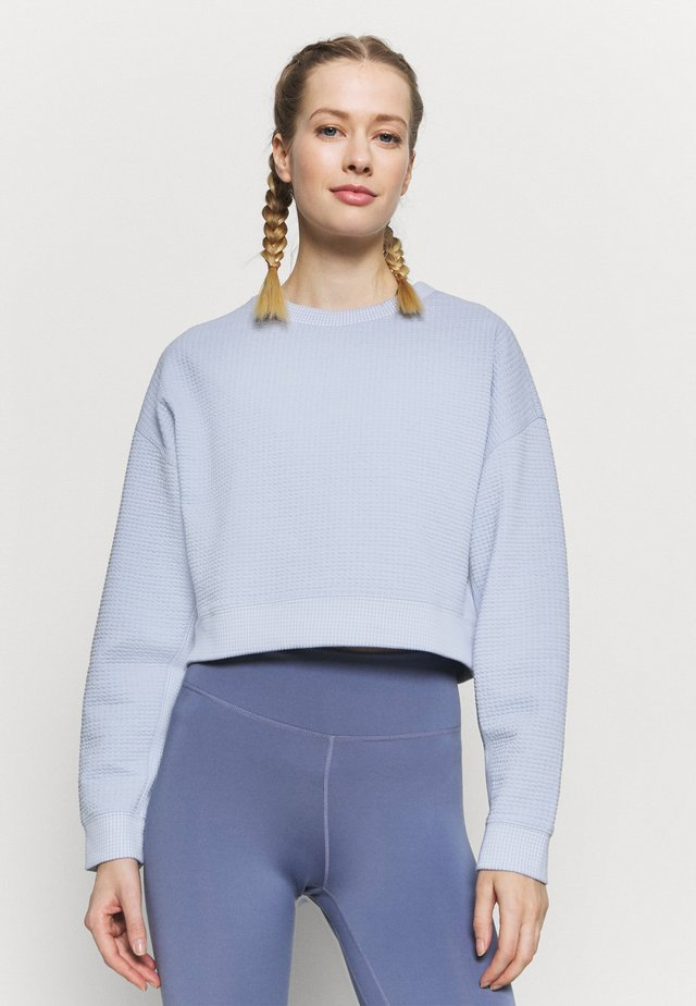 Sweater - baltic blue