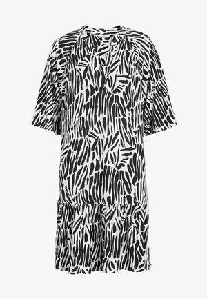 NAVY FLORAL TIERED DRESS - Korte jurk - multi-coloured