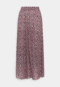 PIECES Tall - PCGWENA MIDI SKIRT - A-linjainen hame - winsome orchid/artsy flowers - 0