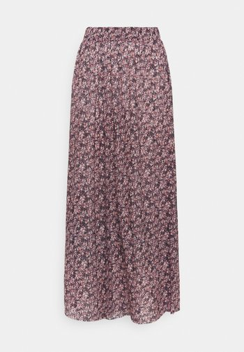 PCGWENA MIDI SKIRT - A-linjainen hame - winsome orchid/artsy flowers
