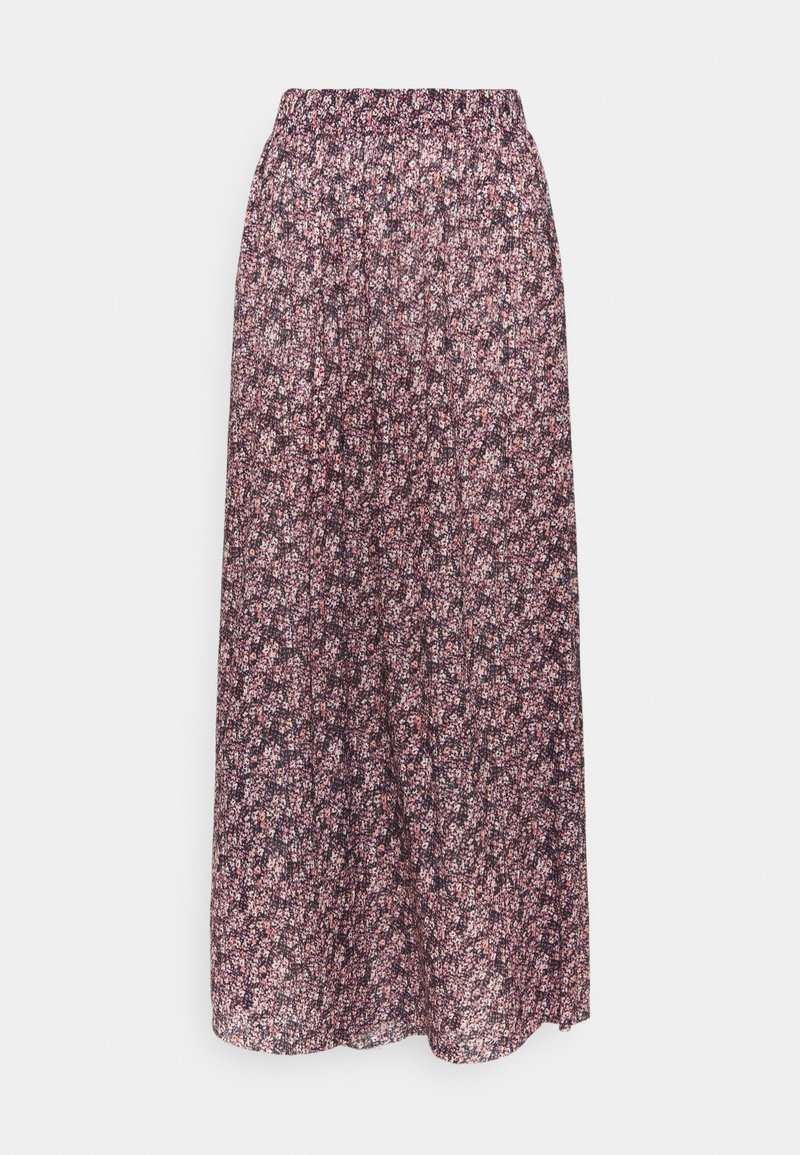 PIECES Tall - PCGWENA MIDI SKIRT - A-linjainen hame - winsome orchid/artsy flowers