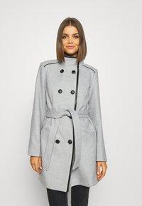 Vero Moda - VMCALAVERONICA  - Zimní kabát - light grey melange - 0