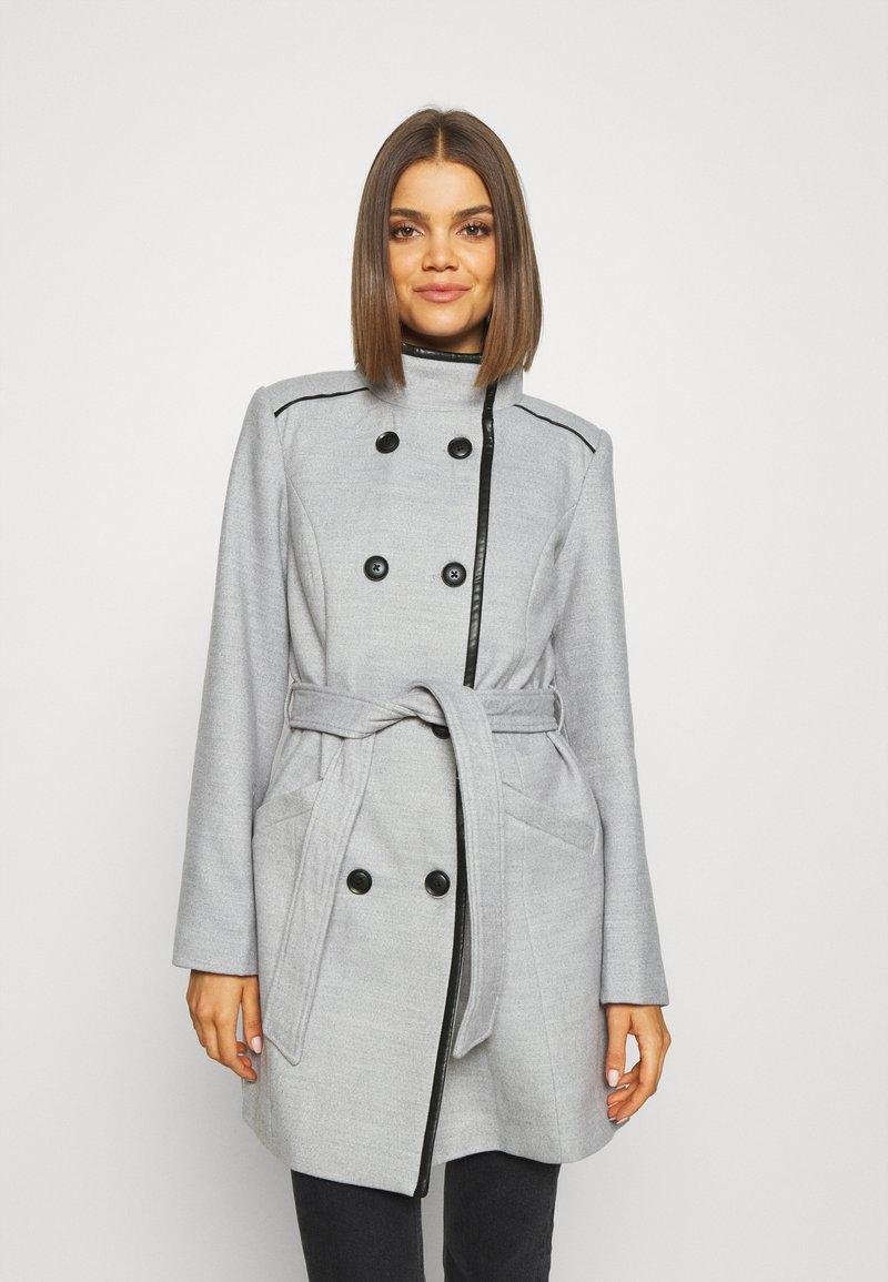Vero Moda - VMCALAVERONICA  - Zimní kabát - light grey melange