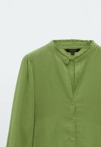Massimo Dutti - Skjortebluser - evergreen - 1