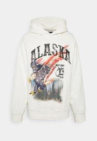 ALASKA SCREEN PRINT HOODIE - Hoodie - ecru