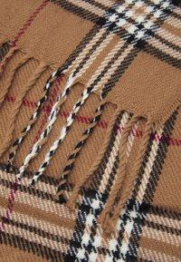 Burton Menswear London - TARTAN CHECK SCARF - Scarf - stone - 2