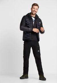The North Face - GORDON LYONS FULL ZIP - Kurtka z polaru - black heather - 1