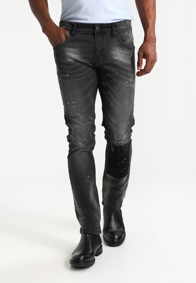 KALMAR - Slim fit jeans - black