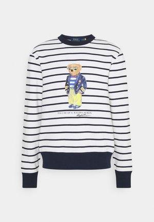 MAGIC - Sweatshirt - white/cruise navy