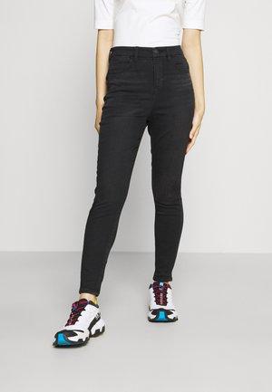 HI RISE - Slim fit jeans - fade to black