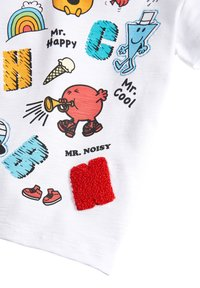 Next - MR MEN - Print T-shirt - white - 2