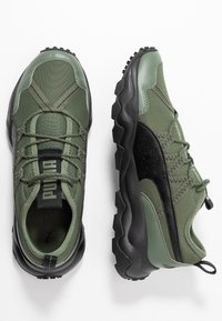 Puma - EMBER - Trail running shoes - thyme/black - 1