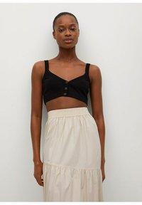 Mango - A-line skirt - arena - 4