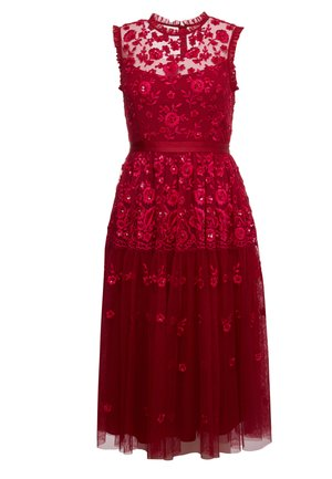 CLOVER GLOSS ASHLEY DRESS - Cocktail dress / Party dress - deep red