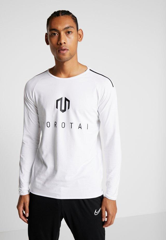 BONDED LONGSLEEVE - T-shirt à manches longues - white