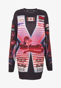 NEW girl ORDER - SHE DEVIL MOTORCROSS LONG SLEEVE - Bluzka z długim rękawem - black - 3