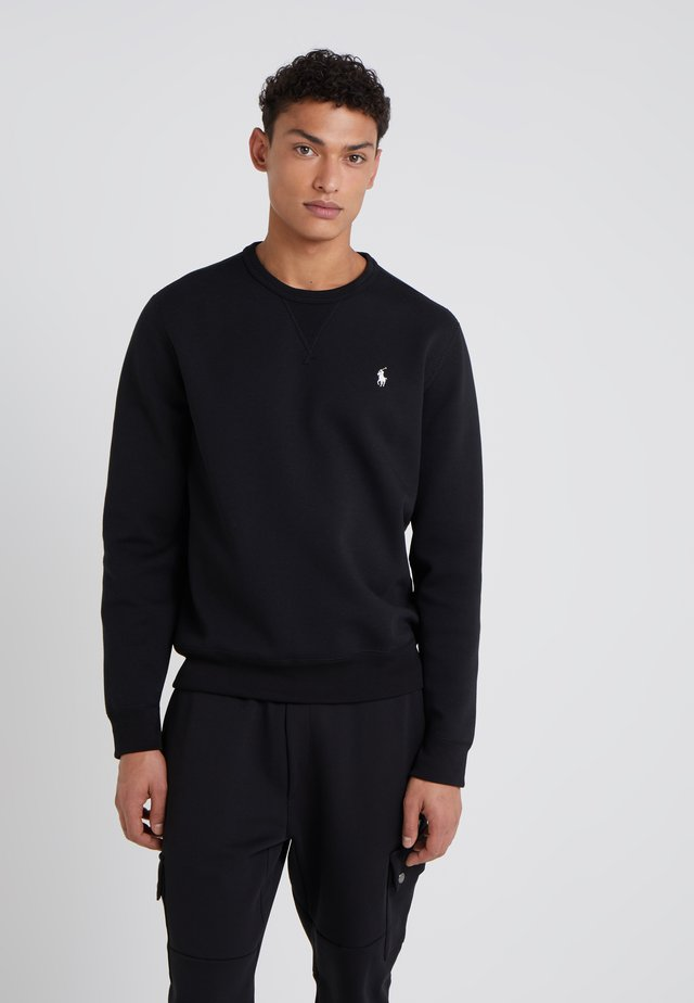 DOUBLE TECH - Sweatshirt - black/cream