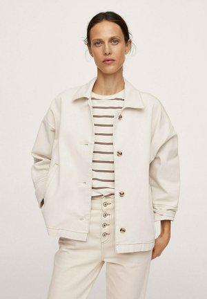 CELIA I - Denim jacket - ecru