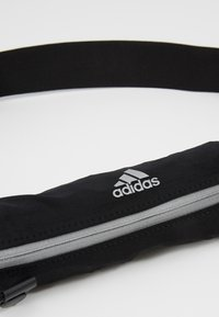 adidas Performance - RUN BELT - Bum bag - black/reflektive silver - 8