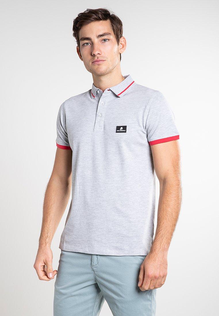 KARL LAGERFELD - CÔTE D'AZUR - Koszulka polo - grey