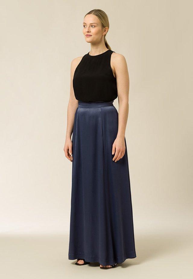 Jupe plissée - graphite blue