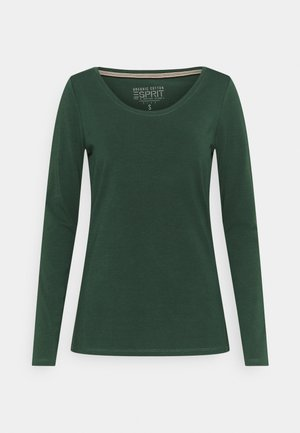 CORE - Long sleeved top - dark green