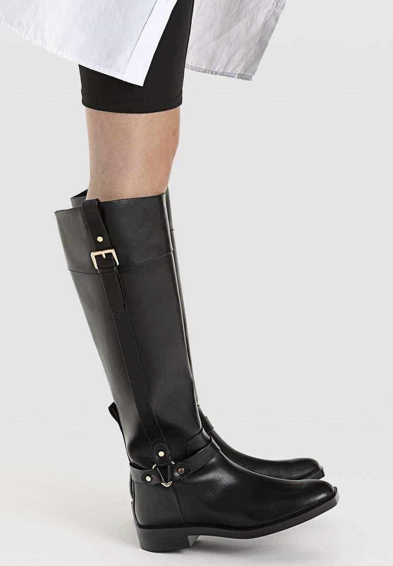Stradivarius - Cowboy/Biker boots - black