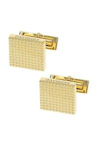 DAVIDOFF - Cufflinks - gold-coloured - 1