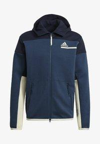 adidas Performance - Z.N.E HOODIE PRIMEGREEN HOODED TRACK TOP - veste en sweat zippée - blue - 5