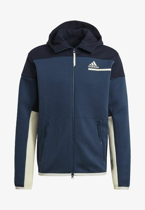 Z.N.E HOODIE PRIMEGREEN HOODED TRACK TOP - veste en sweat zippée - blue