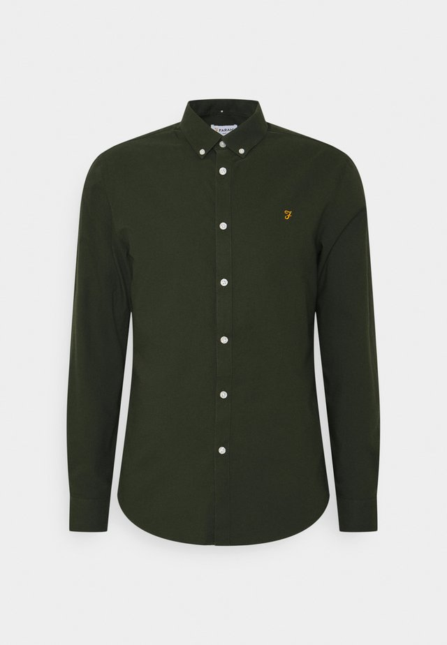 BREWER - Shirt - evergreen