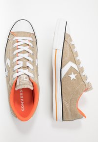Converse - STAR PLAYER - Trainers - khaki/white/bold mandarin - 1