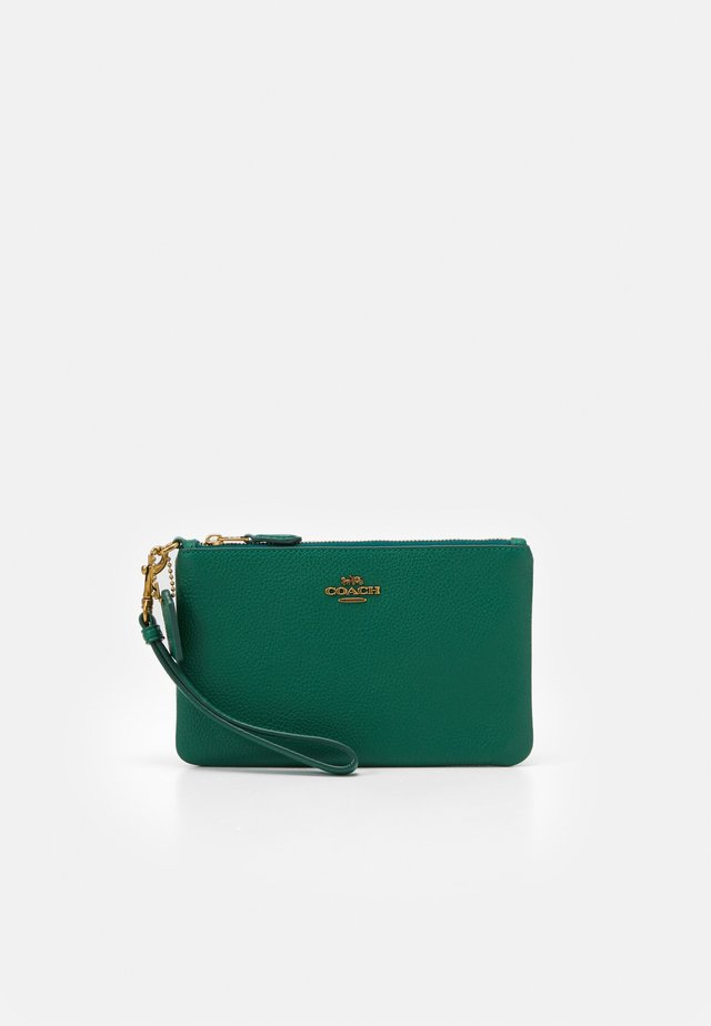 POLISHED SMALL WRISTLET - Pochette - green