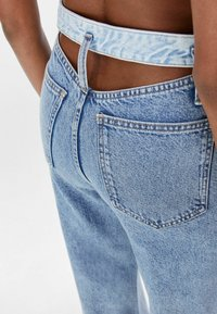 Bershka - Flared jeans - light blue - 4