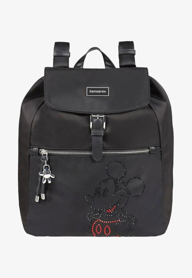 KARISSA DISNEY  - Rucksack - mottled black