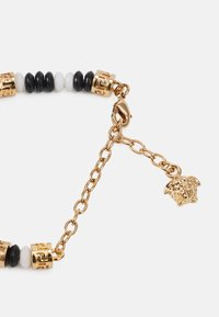 Versace - BRACELET BEADED MEDUSA - Bracelet - bianco/nero/gold-coloured - 1