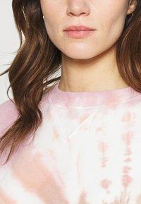 Abercrombie & Fitch - CREW PATTERN - Sweatshirt - pink wash - 5