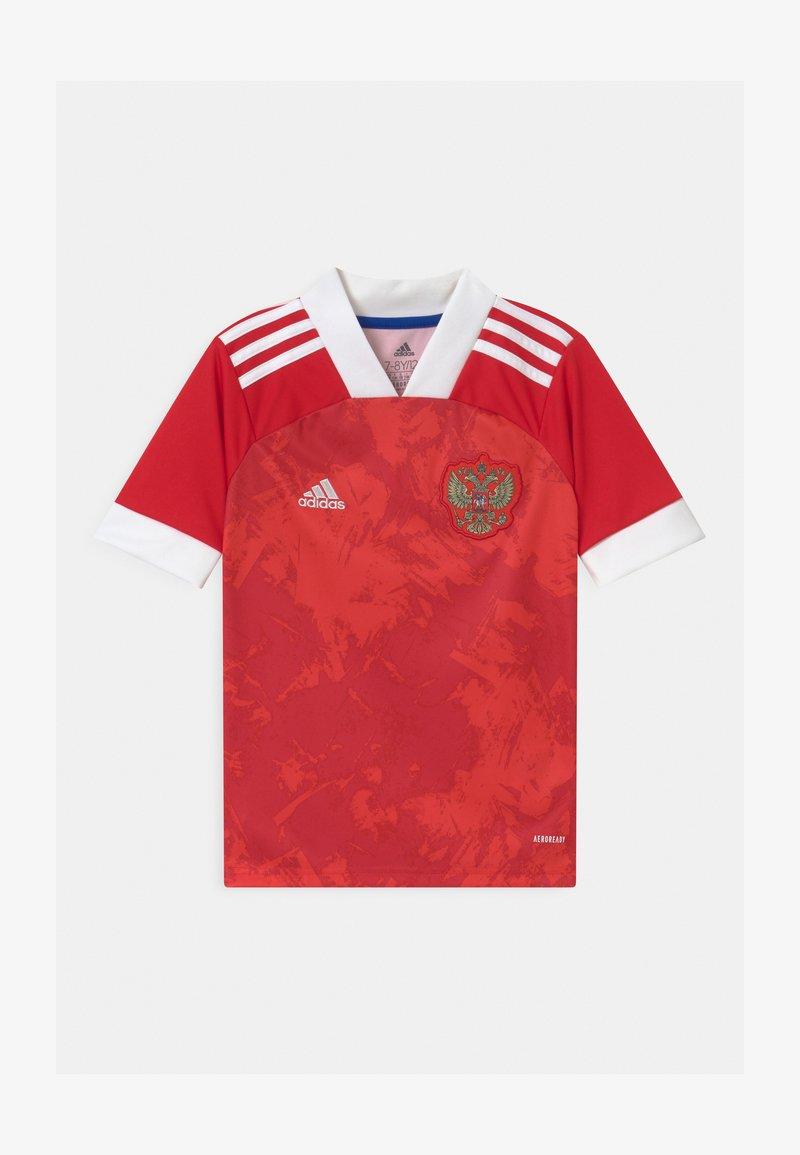 adidas Performance - RFU H UNISEX - Club wear - team colleg red