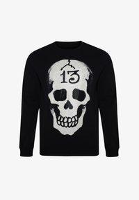 Ed Hardy - SKULL-13 CREW NECK SWEATSHIRT - Sweatshirt - black - 2